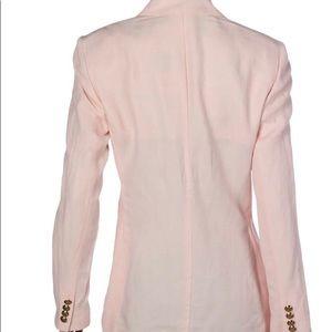 Ralph Lauren pale pink linen blend blazer